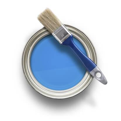 Can of Blue Paint